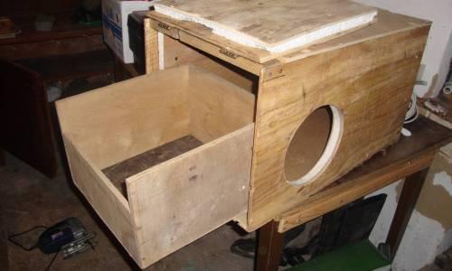 Конструкция маточника для кроликов
