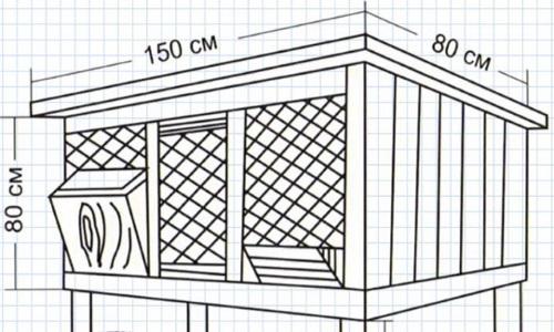 Размеры клеток кроликам своими руками чертежи фото 830